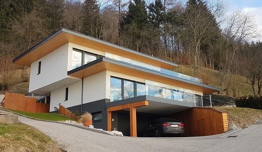 Haus mit Architekt gebaut