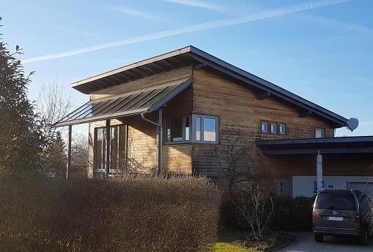 Haus in Passivbauweise