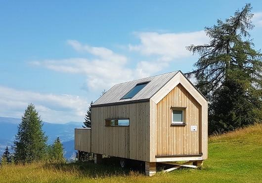 sehr kleines und kompaktes Mini-Haus