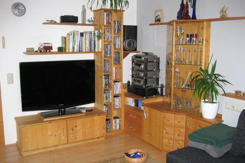 günstiges Wohnzimmer im Elternhaus