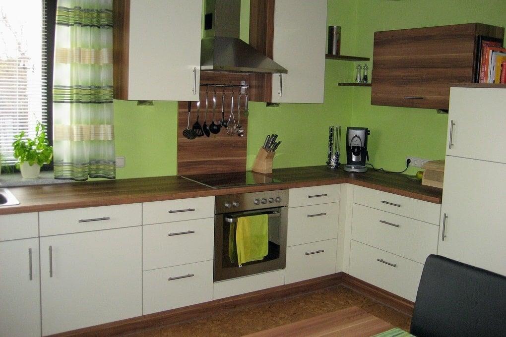 günstige Küche selbst aufgebaut