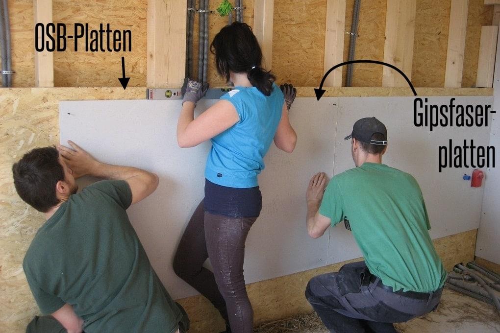 Trockenbau im Holzhaus selber machen