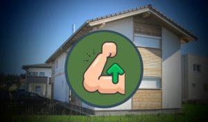 Eine kleine Anleitung, wie man ein Holzhaus selber baut