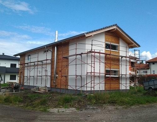 Die Hausfassade herstellen